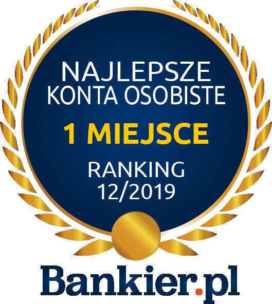 1 miejsce ranking bankier.pl