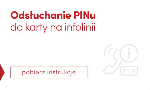 Odłuschanie PINu do karty na infolinii